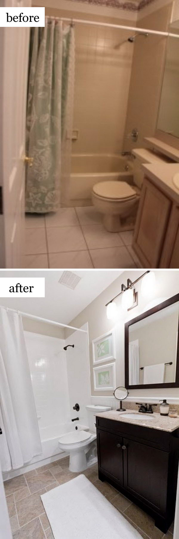 Before And After Makeovers 23 Most Beautiful Bathroom