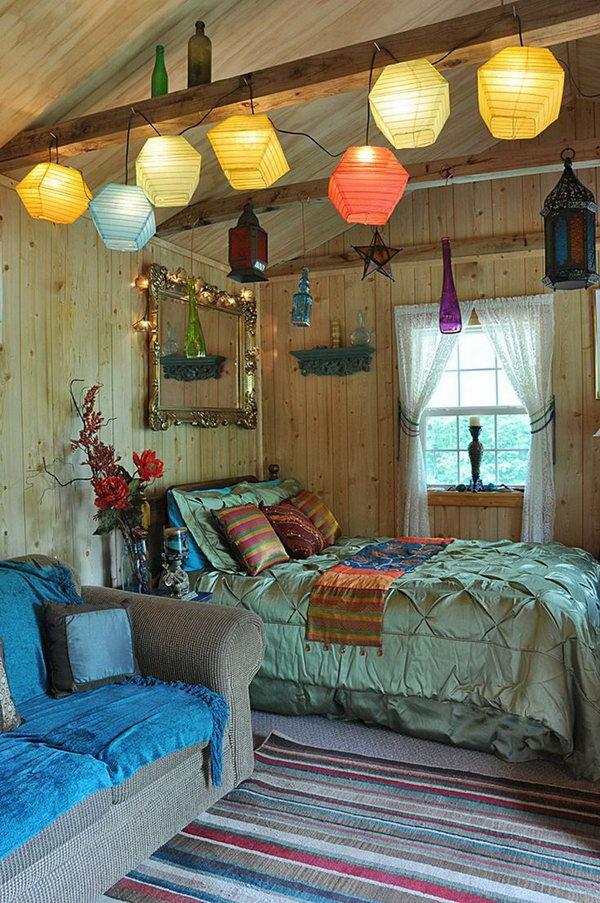 12 Beautiful Bohemian Bedroom Ideas