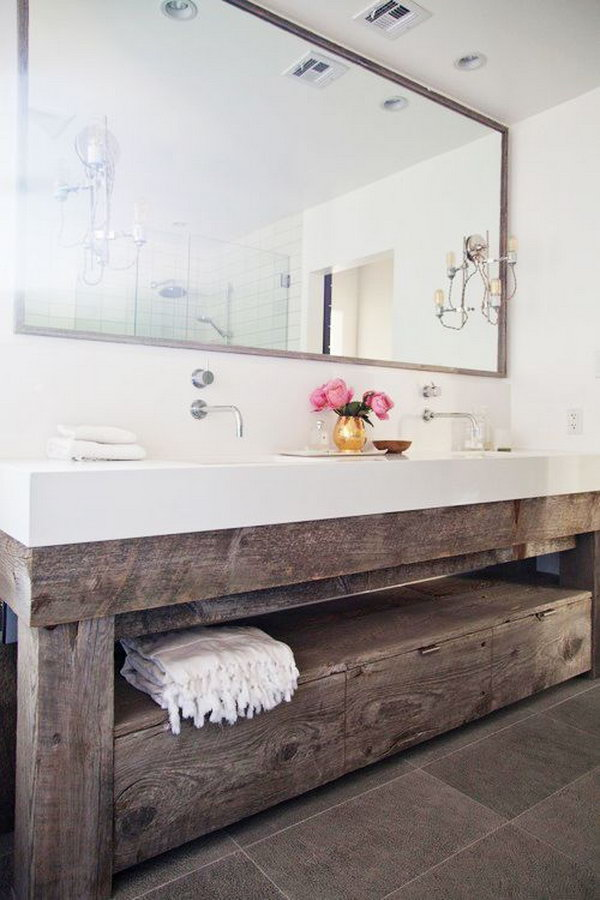 15 Industrial Vintage Bathroom Ideas