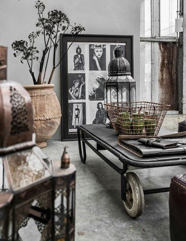 20 Eye Catching Industrial Living Room Ideas