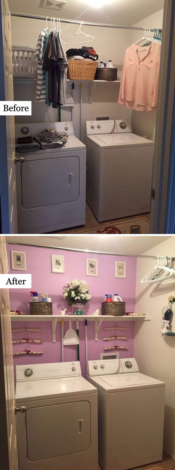25 Creative Before and After Laundry Room Makeovers to Inspire Your Next Renovation