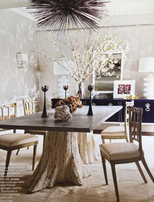20 Incredible Tree Inspired Furniture Designs