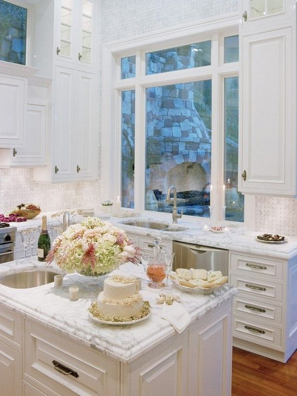 49 Beautiful Kitchen Countertop Ideas