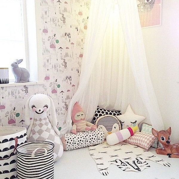 39 Creative and Cozy Reading Nooks for Kids
