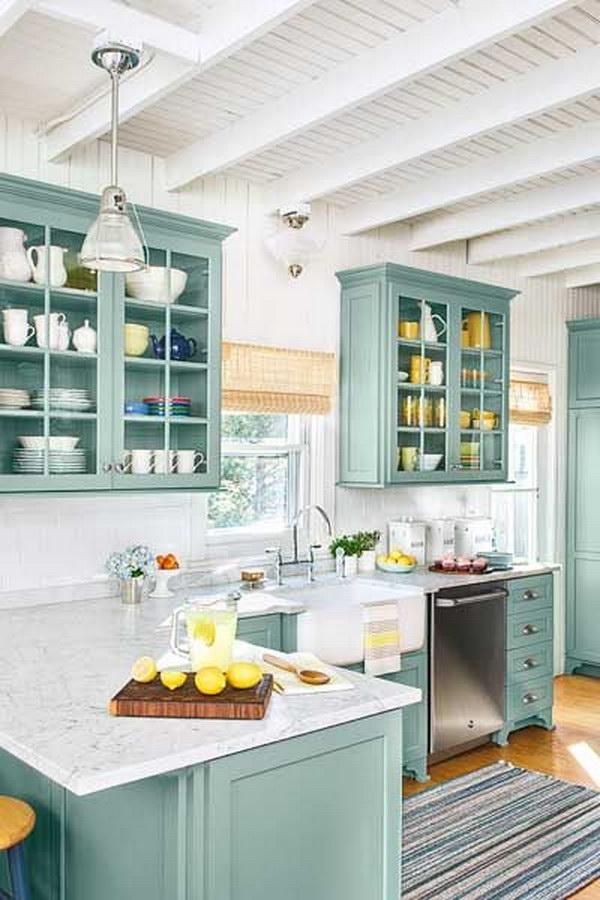 83 Cool Kitchen Cabinet Paint Color Ideas
