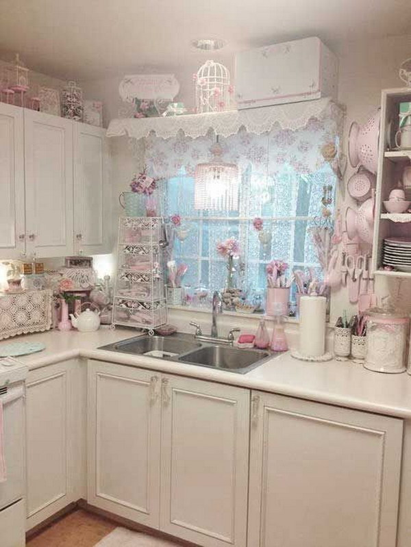 47 Awesome Shabby Chic Kitchen Designs – Page 37 – Tiger Feng