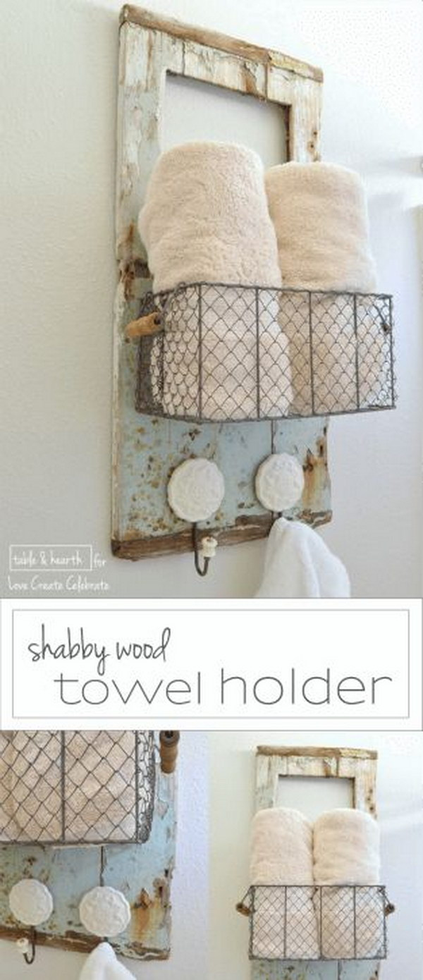 56 Amazing Shabby Chic Bathroom Ideas