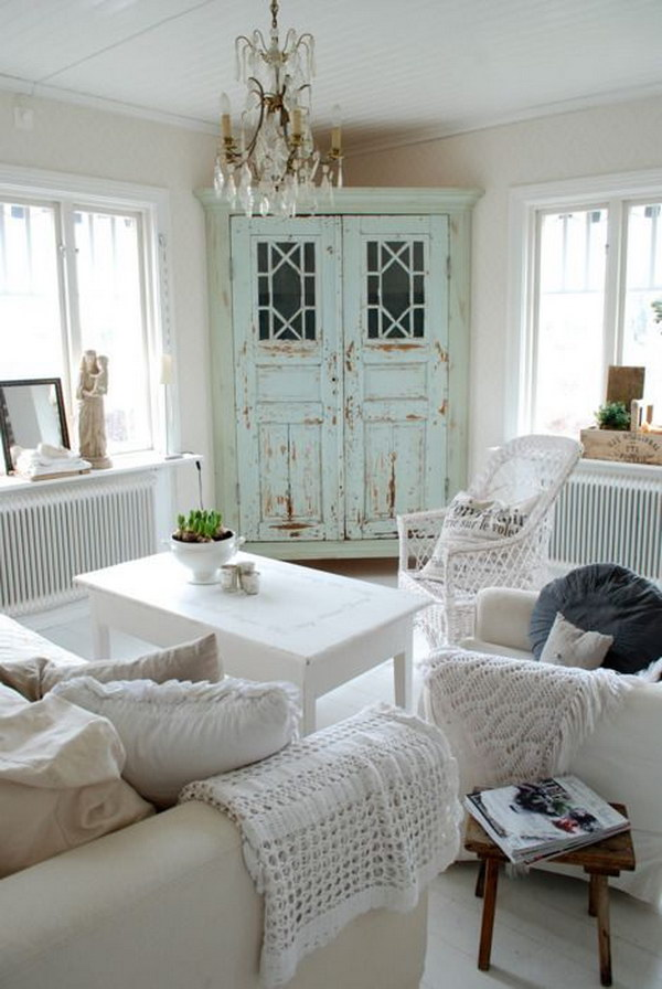 Fresh Shabby Chic Living Room Ideas Design