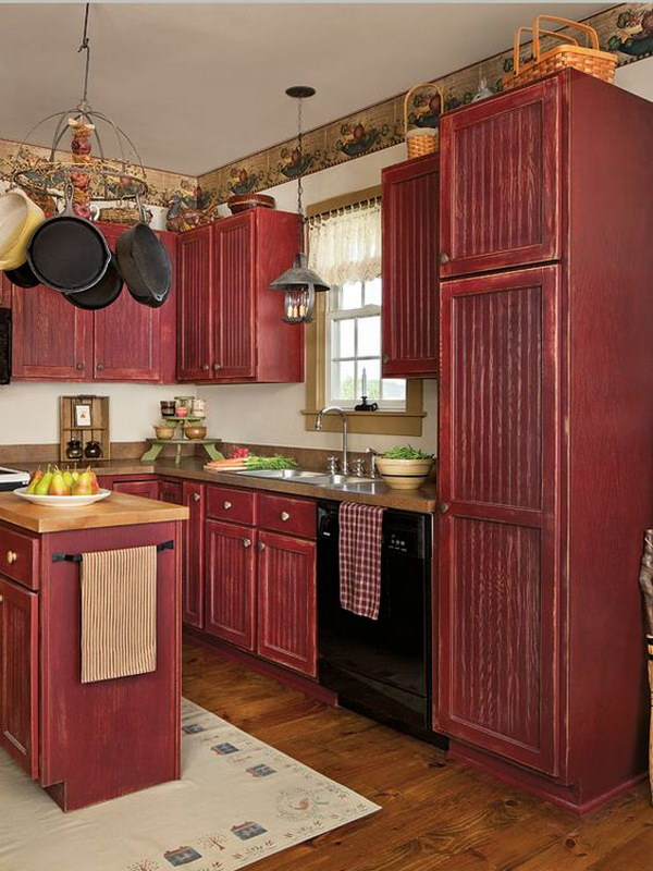 83 Cool Kitchen Cabinet Paint Color Ideas
