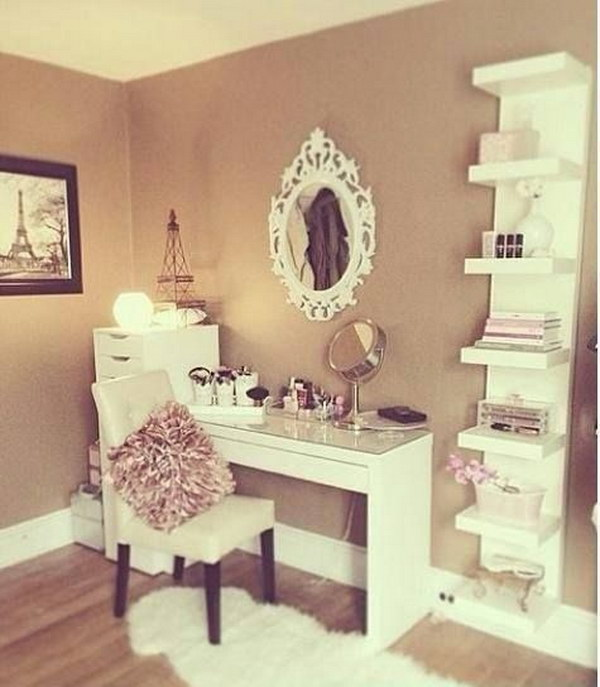 25 Awesome Makeup Vanity Ideas