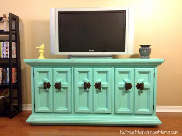 24 Budget Friendly DIY Chalk Paint Furniture Ideas