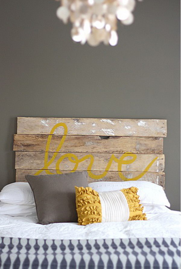 Decorate Your Bedroom with These 25 DIY Headboards
