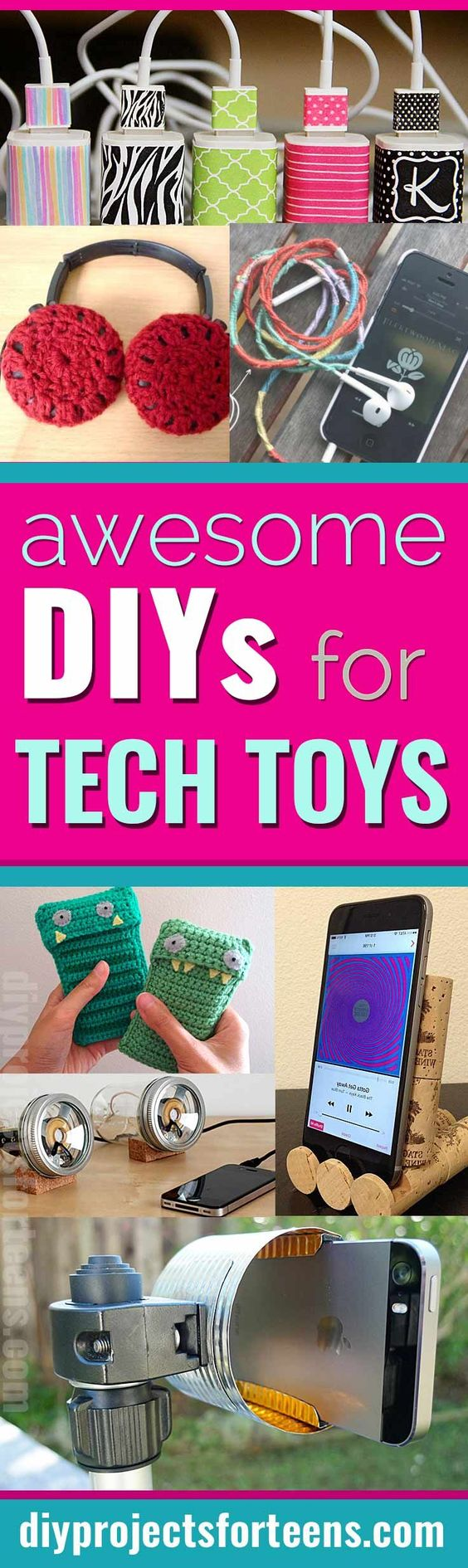 Cool DIY Ideas for Your iPhone iPad Tablets & Phones   Fun Projects for Chargers, Cases and Headphones