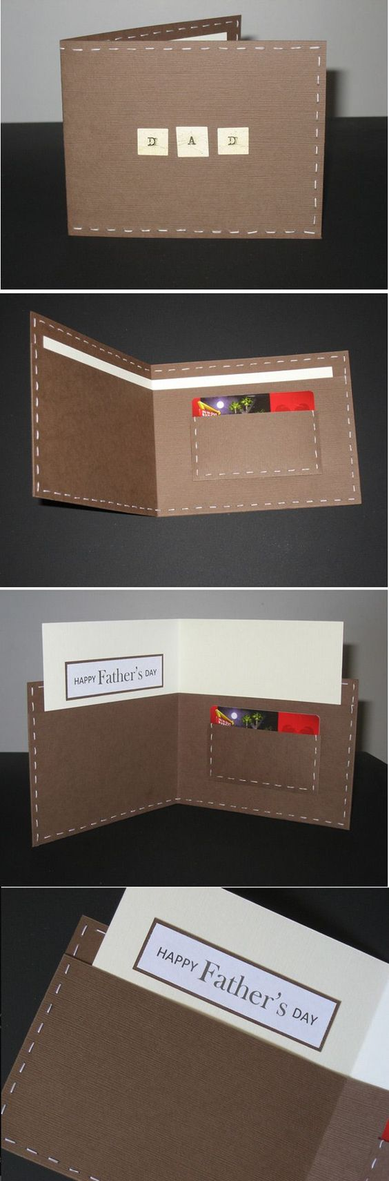 Cool DIY Fathers Day Card Ideas   DIY Wallet Card