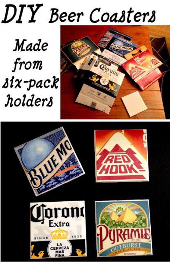 Repurposing Ideas: Beer Packaging   43 Things to Never Throw Away