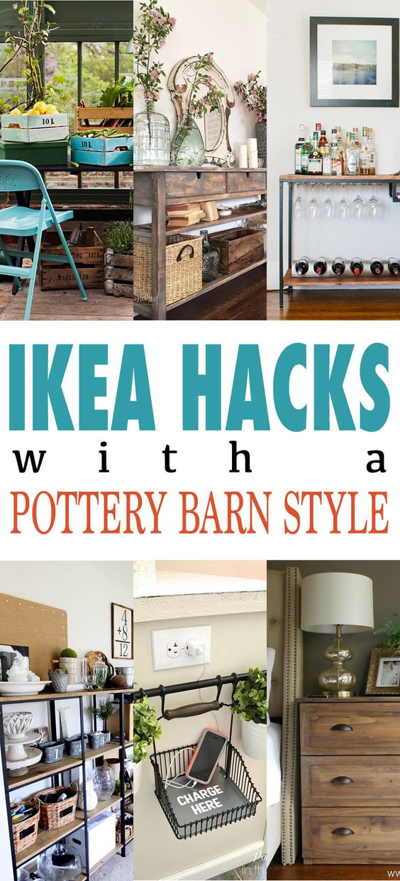 32 Awesome Pottery Barn Style DIY Projects For Less