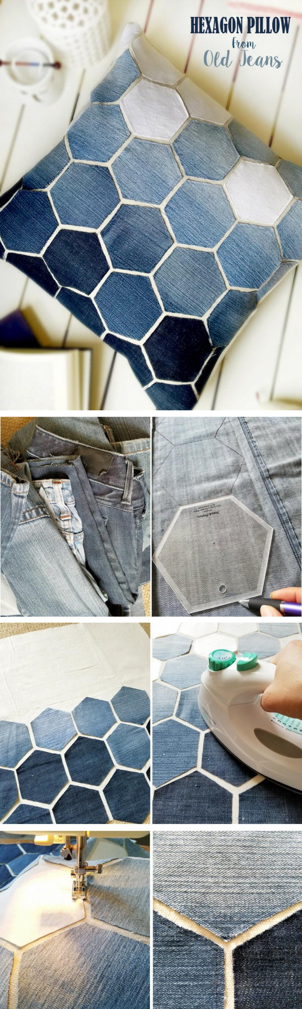 20 Creative DIY Ideas to Repurpose Your Old Jeans