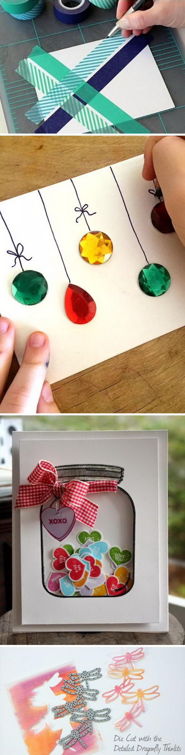 20 Handmade Card Ideas and Tutorials