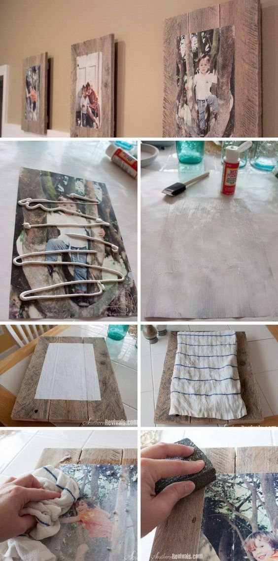 26 Easy DIY Projects for Transferring Image to Wood