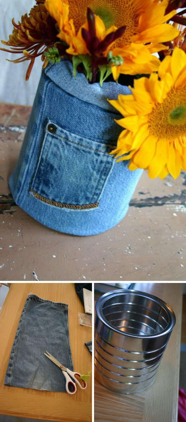 20 Creative DIY Ideas to Repurpose Your Old Jeans - Page ...