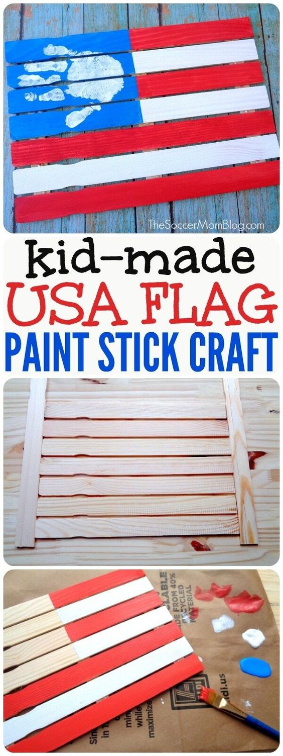 20 Easy DIY Patriotic Crafts for 4th of July