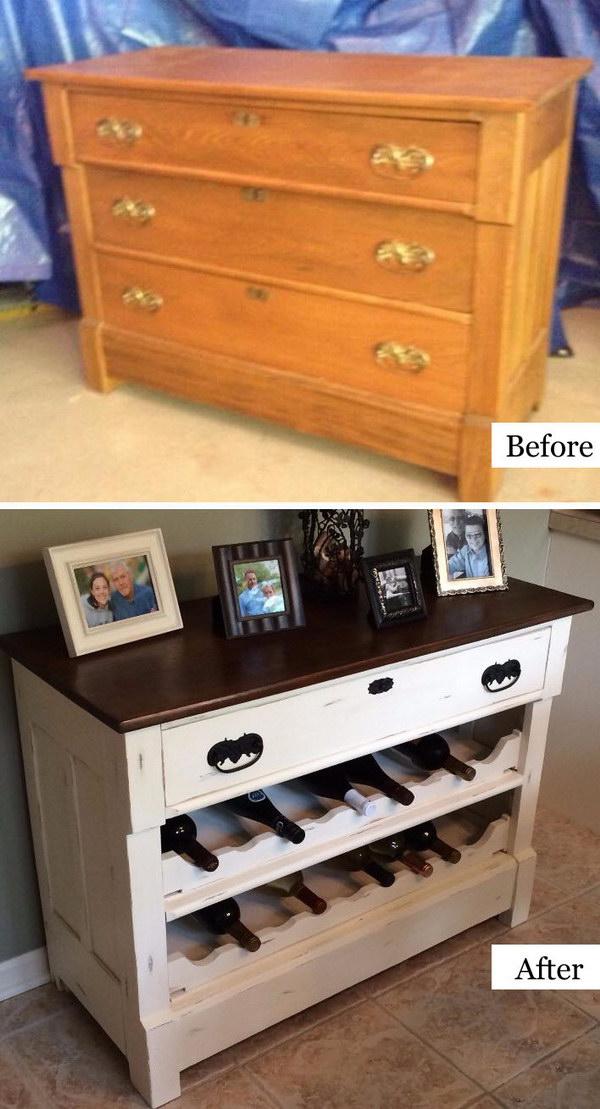 23 DIY Dresser Makeover and Transformation Ideas