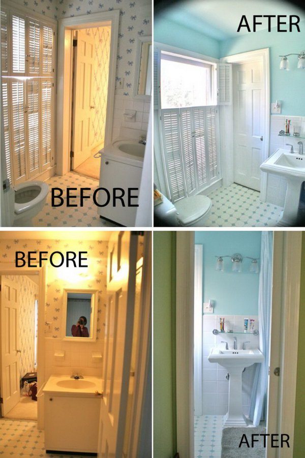 . 30 Dramatic Before and After Bathroom Makeovers   Page 24   Tiger Feng