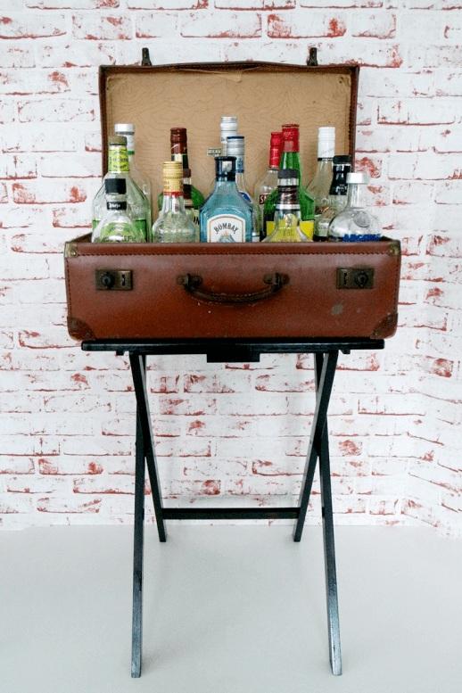 31 DIY Projects: DIY Bar Carts