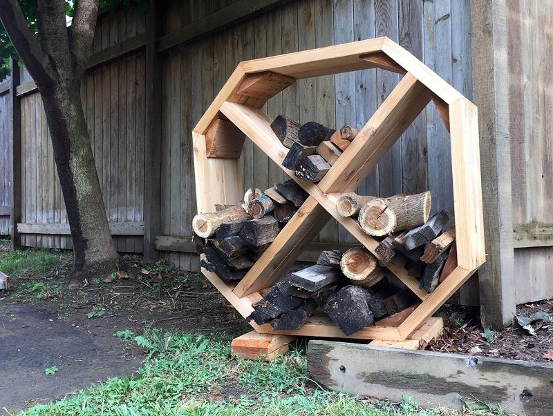 18 Best DIY Firewood Storage Ideas