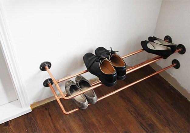 24 DIY Entryway Decor And Storage Ideas