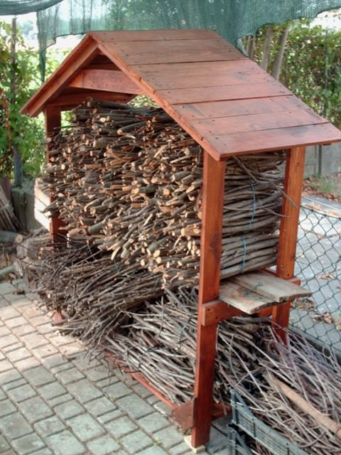18 Best DIY Firewood Storage Ideas