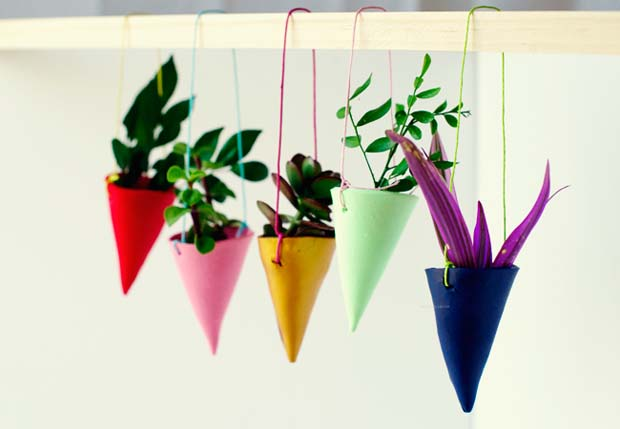 12 Fabulous DIY Hanging Planters