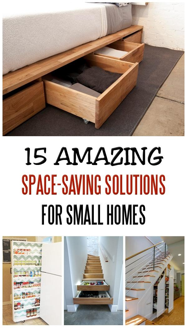 15 Amazing Space-Saving Solutions For Small Homes