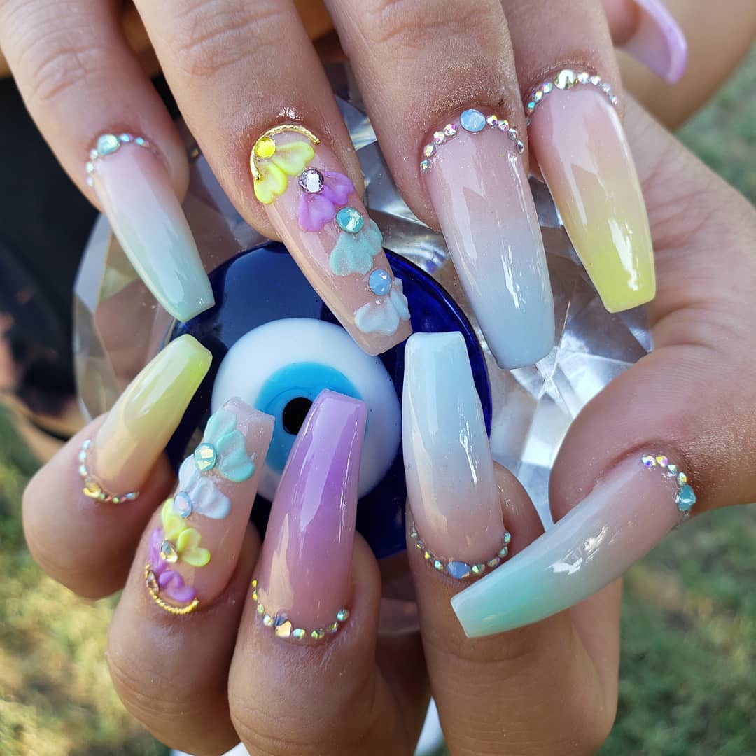 60 Unique and Stylish 3D Nail Designs