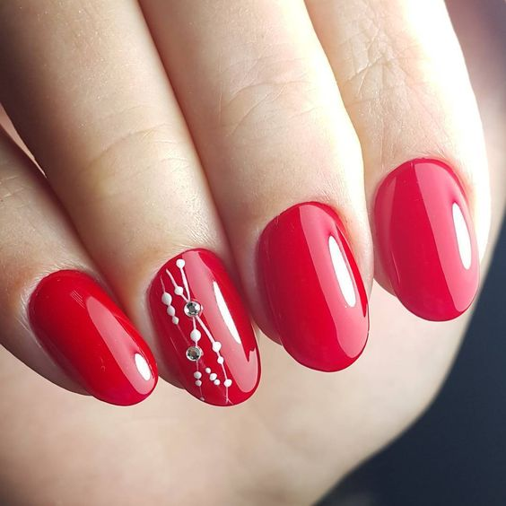 44 Stylish Oval Nail Art Designs