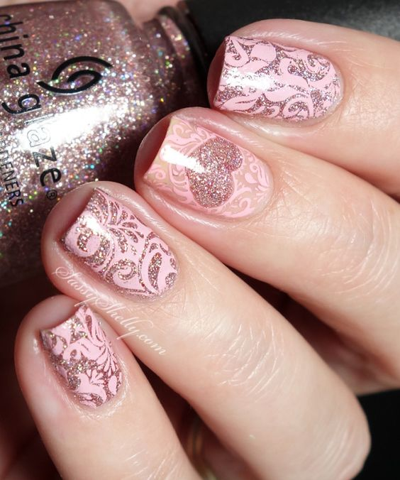 36 Gorgeous Lace Nail Art Designs