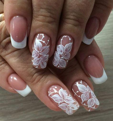 36 Gorgeous Lace Nail Art Designs