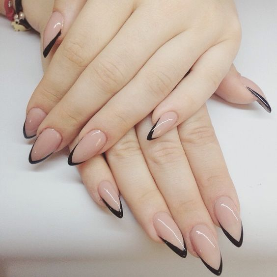 32 Stunning Stiletto Tip Nail Designs