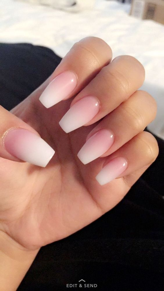 50 Beautiful Square Nails - Page 17 of 50 - Lily Fashion Style