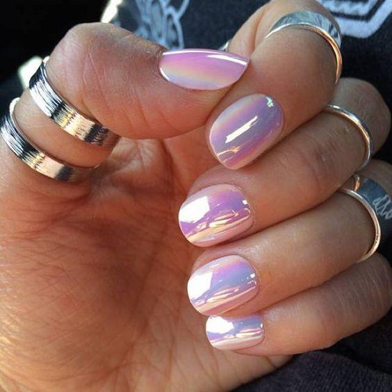 44 Stylish Oval Nail Art Designs