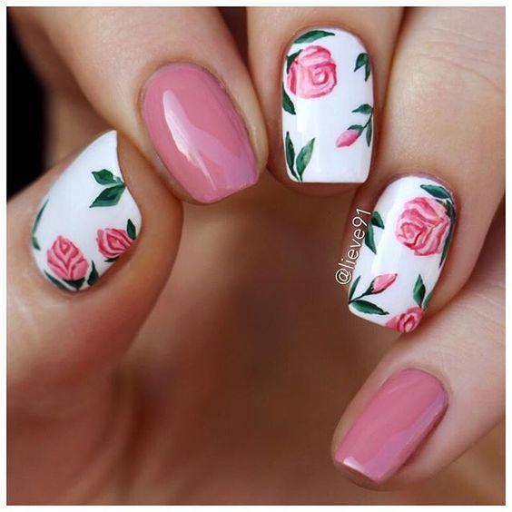 56 Elegant Spring Floral Nail Art Designs Page 52 Tiger Feng