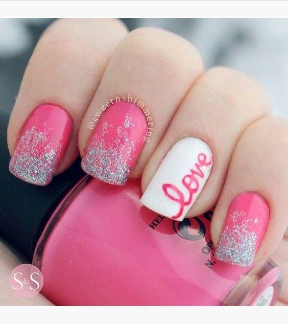 80 Gorgeous Valentine's Nails Designs