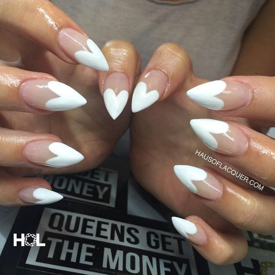 32 Stunning Stiletto Tip Nail Designs