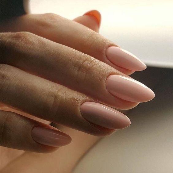 56 Classy Skin Color Nail Art Designs