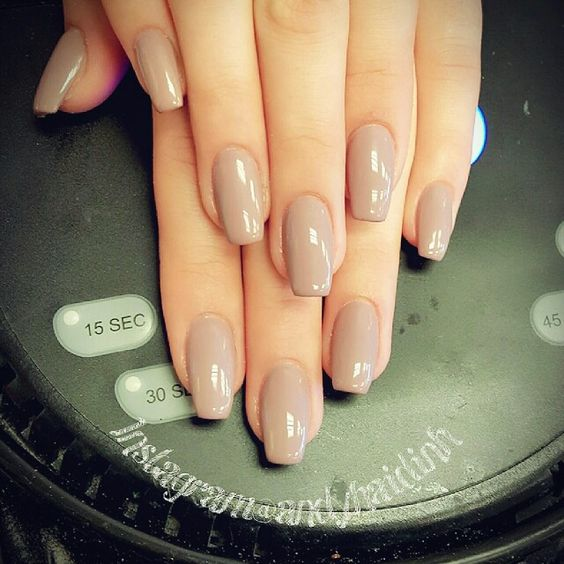 50 Elegant Squoval Nail Art Design Ideas
