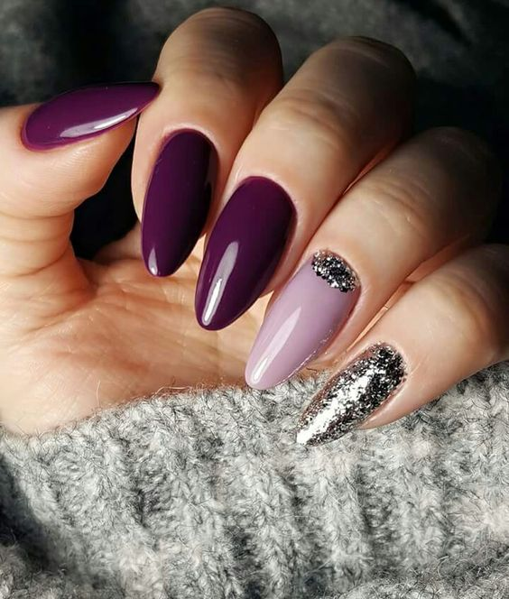 Trendy Purple Nail Art Designs: 64 Trendy Purple Nail Art Designs And Ideas You Have To