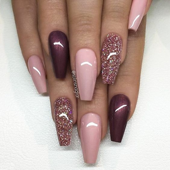70 Trendy Burgundy Nails Designs Ideas You Definately Have to Try