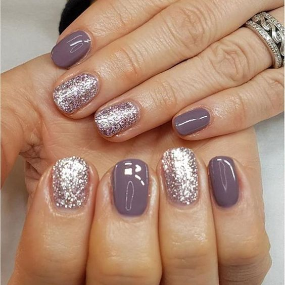 64 Trendy Purple Nail Art Designs and Ideas You Have to Try