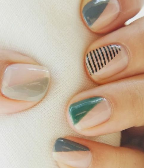 64 Classy Minimalist Nail Art Designs You'll Love