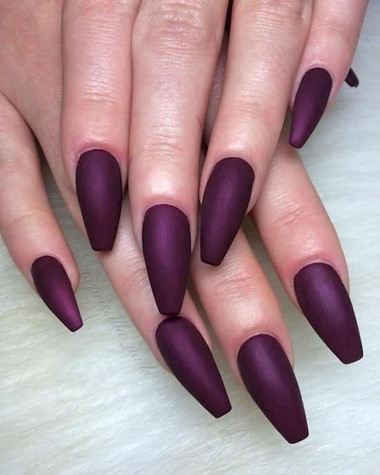 64 Trendy Purple Nail Art Designs and Ideas You Have to Try – Page ...